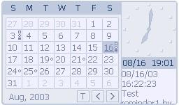 برنامج التقويم HyperCalendar Ver. 3.11